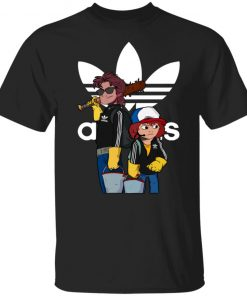 Adidas Stranger Things Steve And Dustin Limited Edition Unisex T-Shirt
