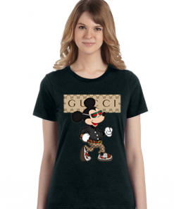 Gucci Mickey Mouse Stylist women tee