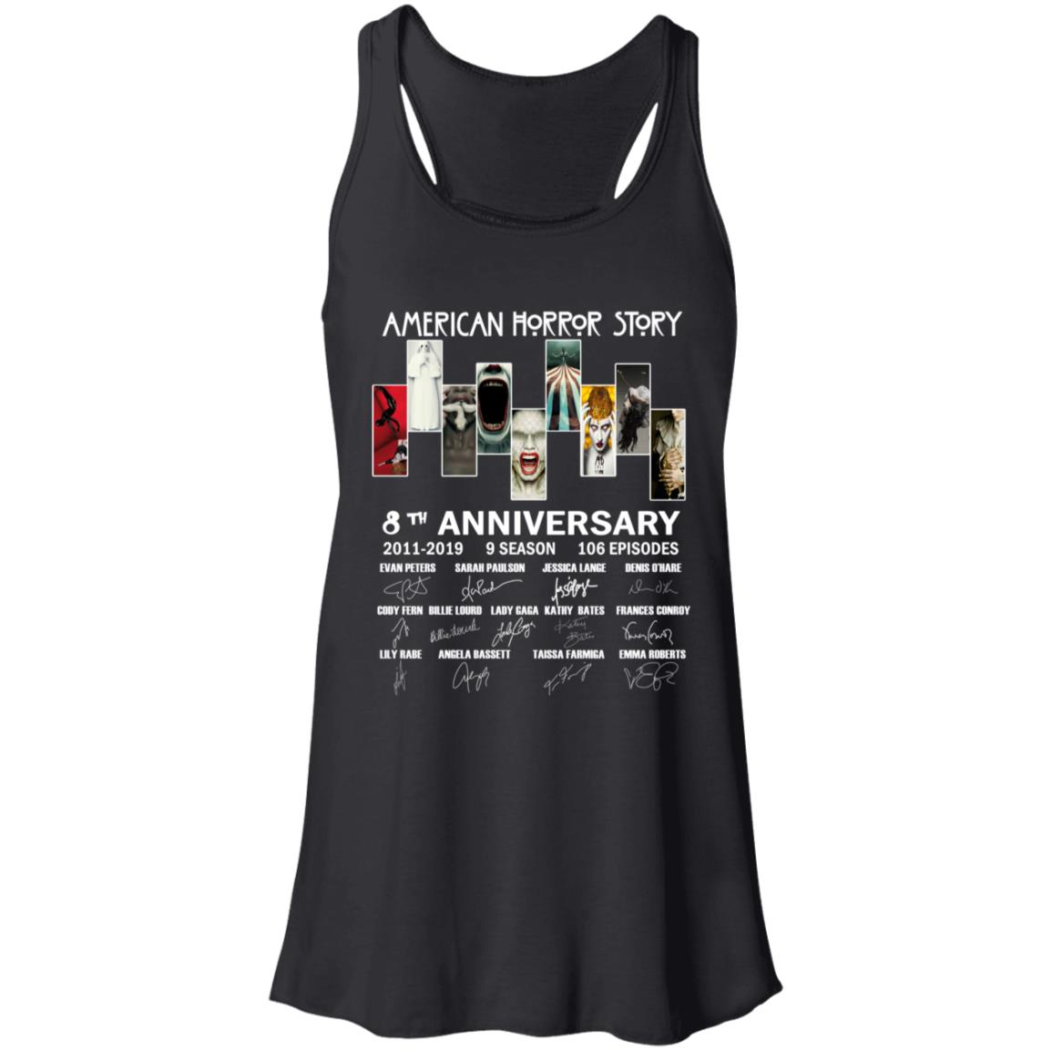 American Horror Story 8th Anniversary Women's Tank Top