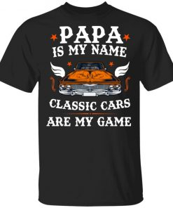American Dad Muscle Car Lover Owner Unisex T-Shirt